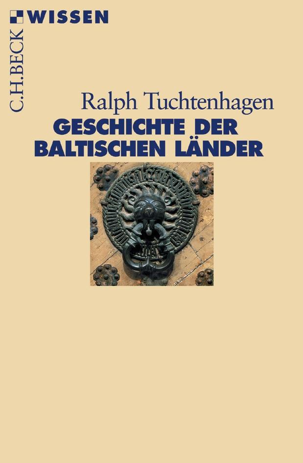 Cover des Buches 'Geschichte der baltischen Länder'