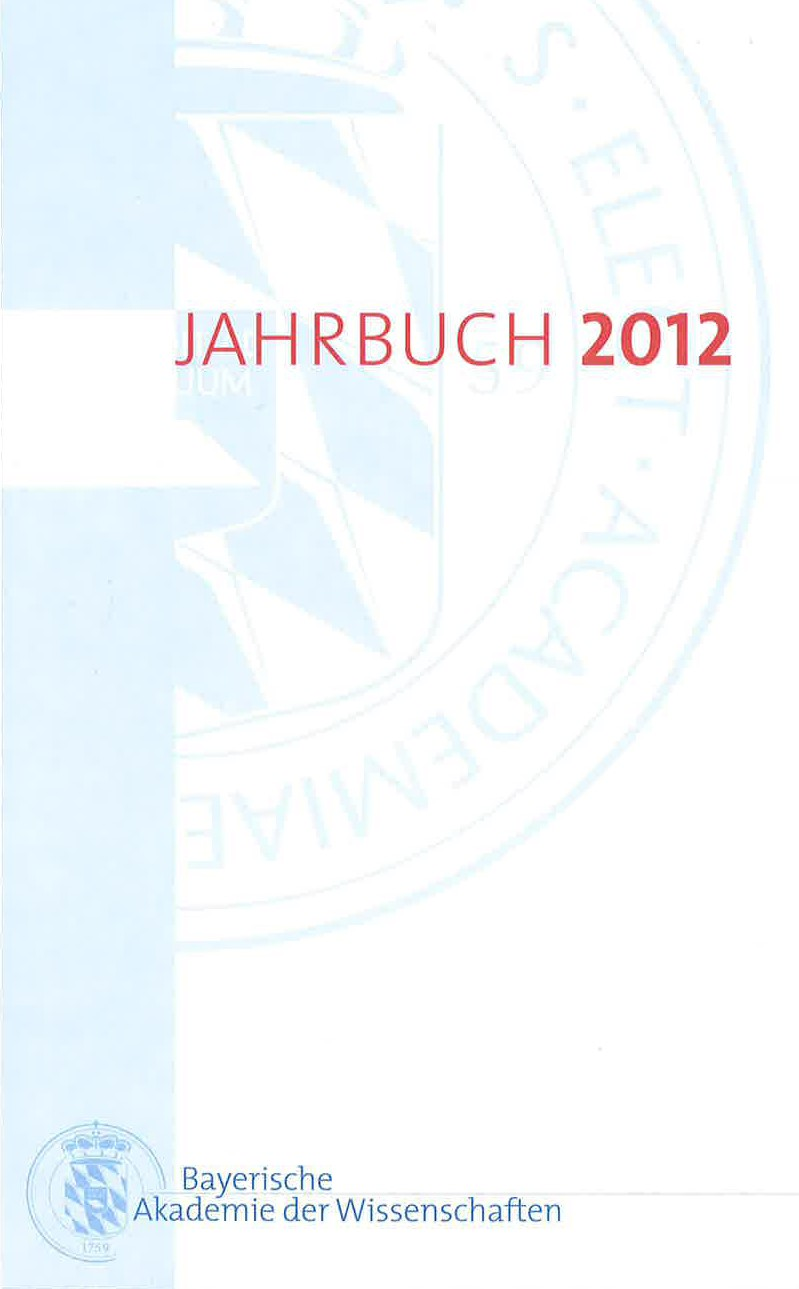Cover des Buches 'Jahrbuch 2012'