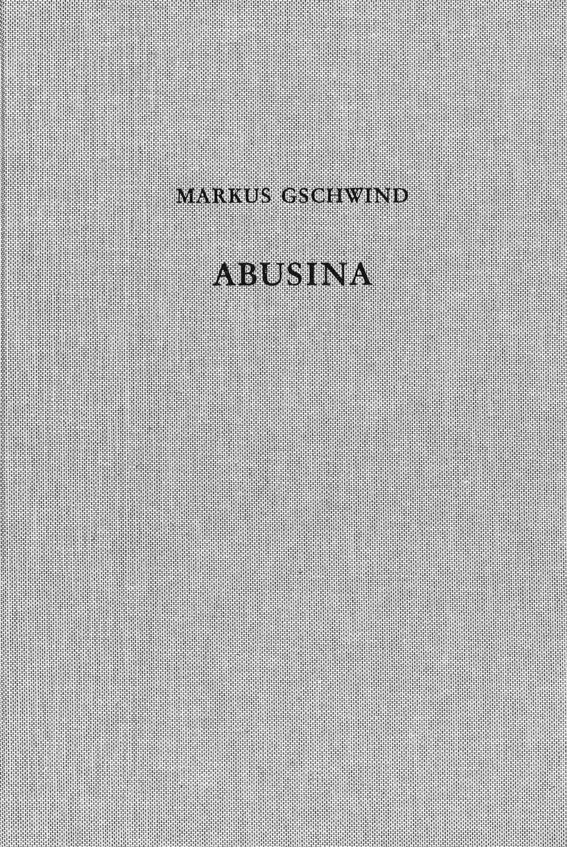 Cover des Buches 'Abusina. Das römische Auxiliarkastell Eining an der Donau vom 1. bis 5. Jh. n. Chr.'