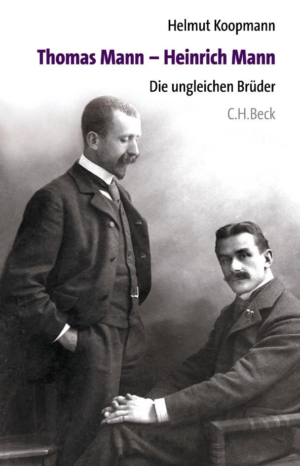 Cover des Buches 'Thomas Mann - Heinrich Mann'