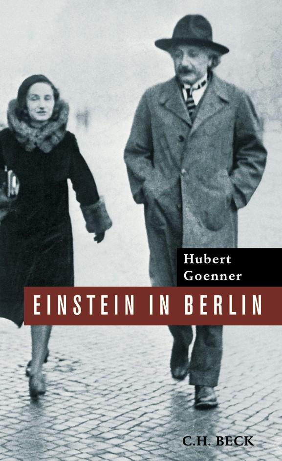 Cover des Buches 'Einstein in Berlin'