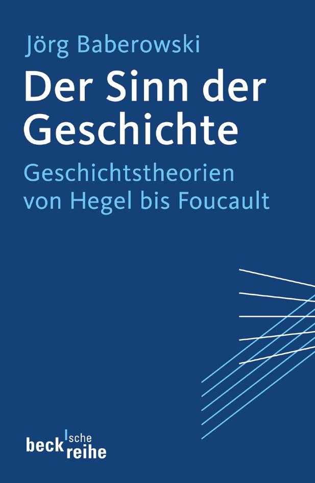 Cover des Buches 'Der Sinn der Geschichte'