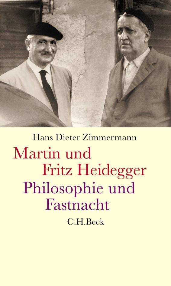 Cover des Buches 'Martin und Fritz Heidegger'