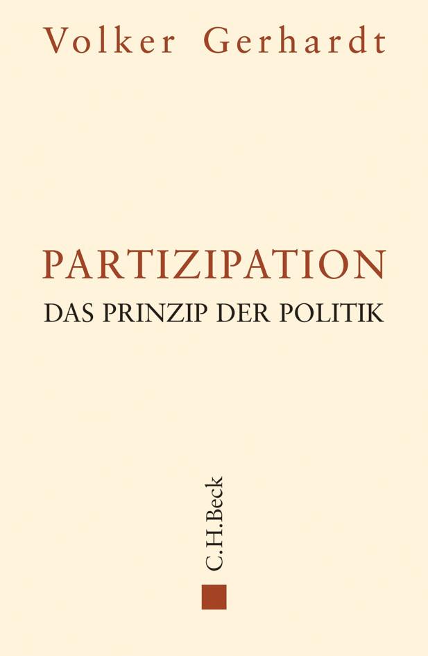 Cover des Buches 'Partizipation'