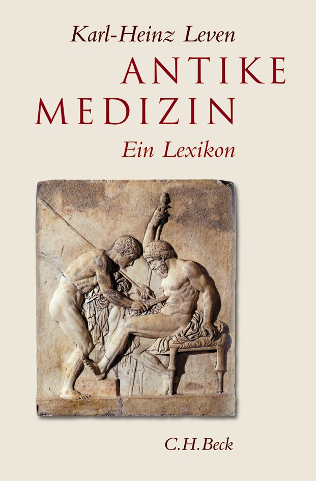 Cover des Buches 'Antike Medizin'