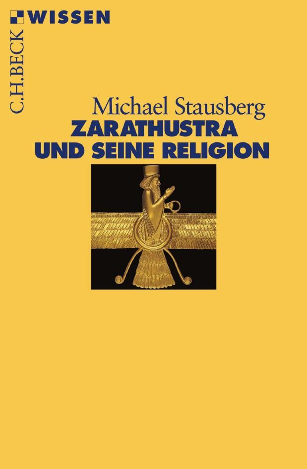 Cover des Buches 'Zarathustra und seine Religion'