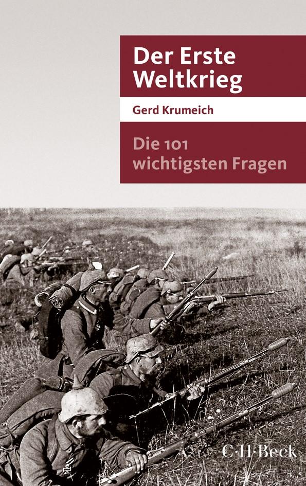 Cover des Buches 'Die 101 wichtigsten Fragen - Der Erste Weltkrieg'