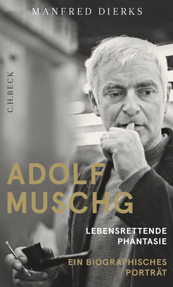 Cover des Buches 'Adolf Muschg'