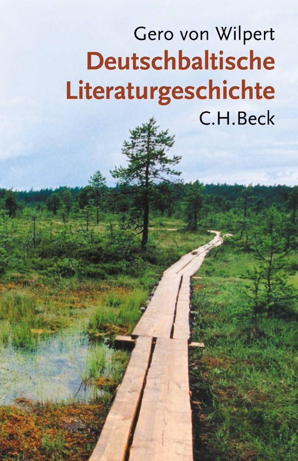 Cover des Buches 'Deutschbaltische Literaturgeschichte'
