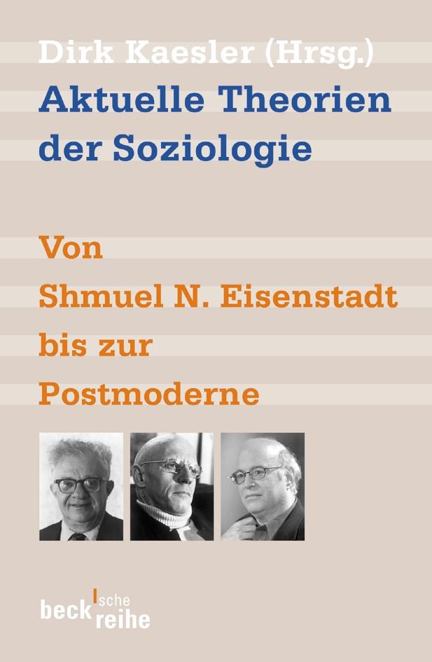 Cover des Buches 'Aktuelle Theorien der Soziologie'