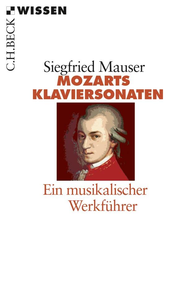 Cover des Buches 'Mozarts Klaviersonaten'