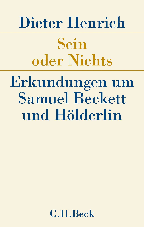 Cover des Buches 'Sein oder Nichts'