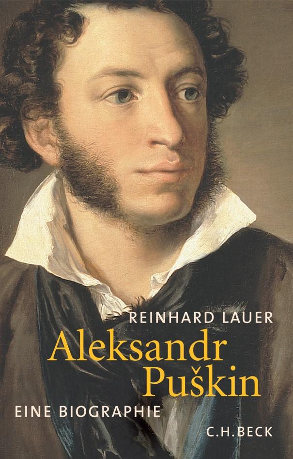 Cover des Buches 'Aleksandr Puškin'