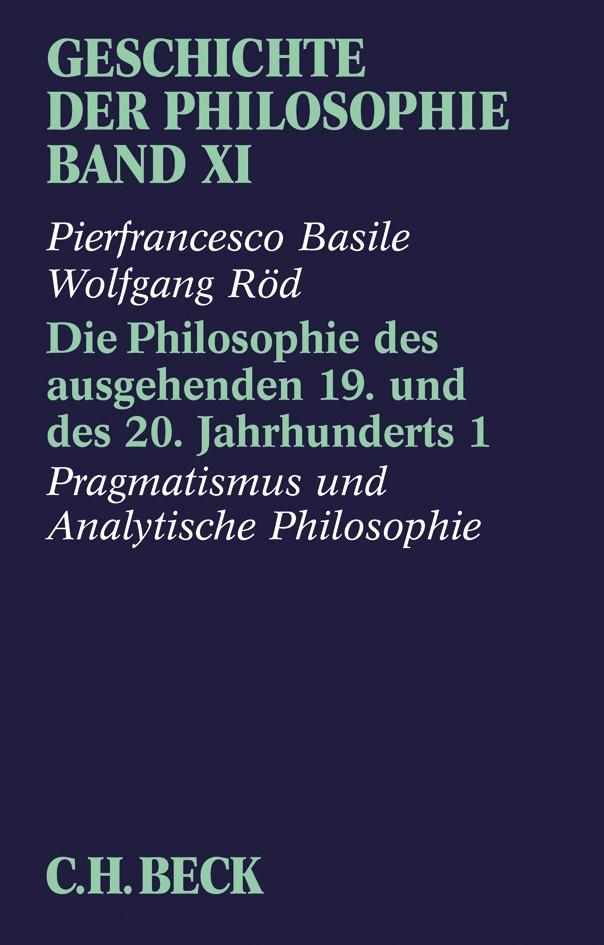Cover des Buches 'Geschichte der Philosophie  Bd. 11'
