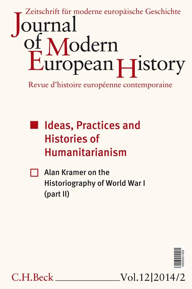 Cover des Buches 'Journal of Modern European History. Volume 12 (2014) Heft 2 = Zeitschrift für moderne europäische Geschichte = Revue d`histoire européenne contemporaine'
