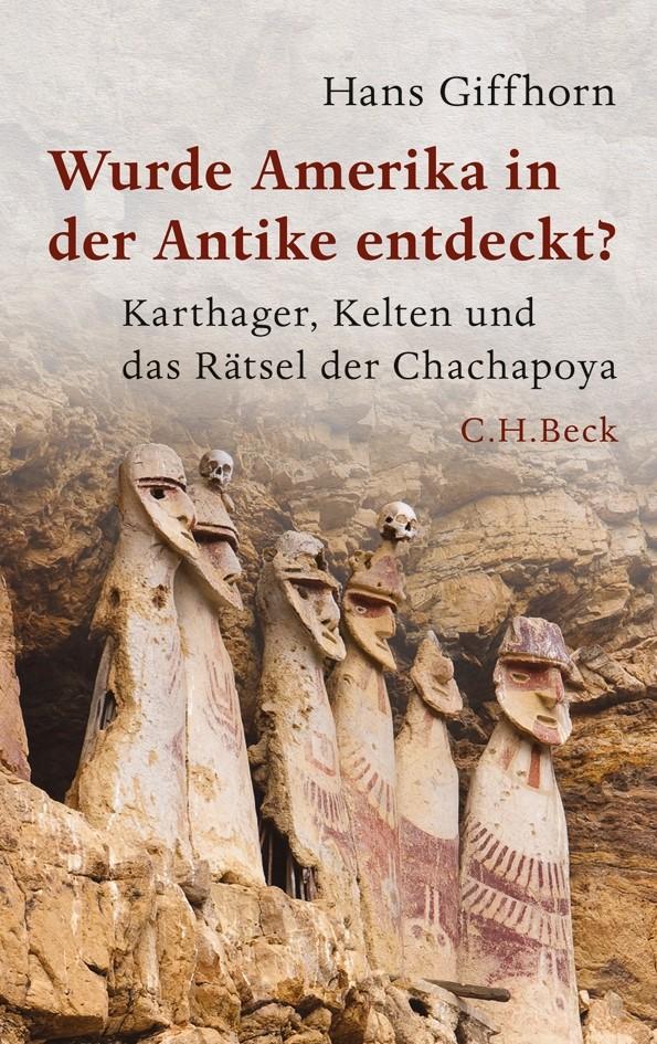 Cover des Buches 'Wurde Amerika in der Antike entdeckt?'