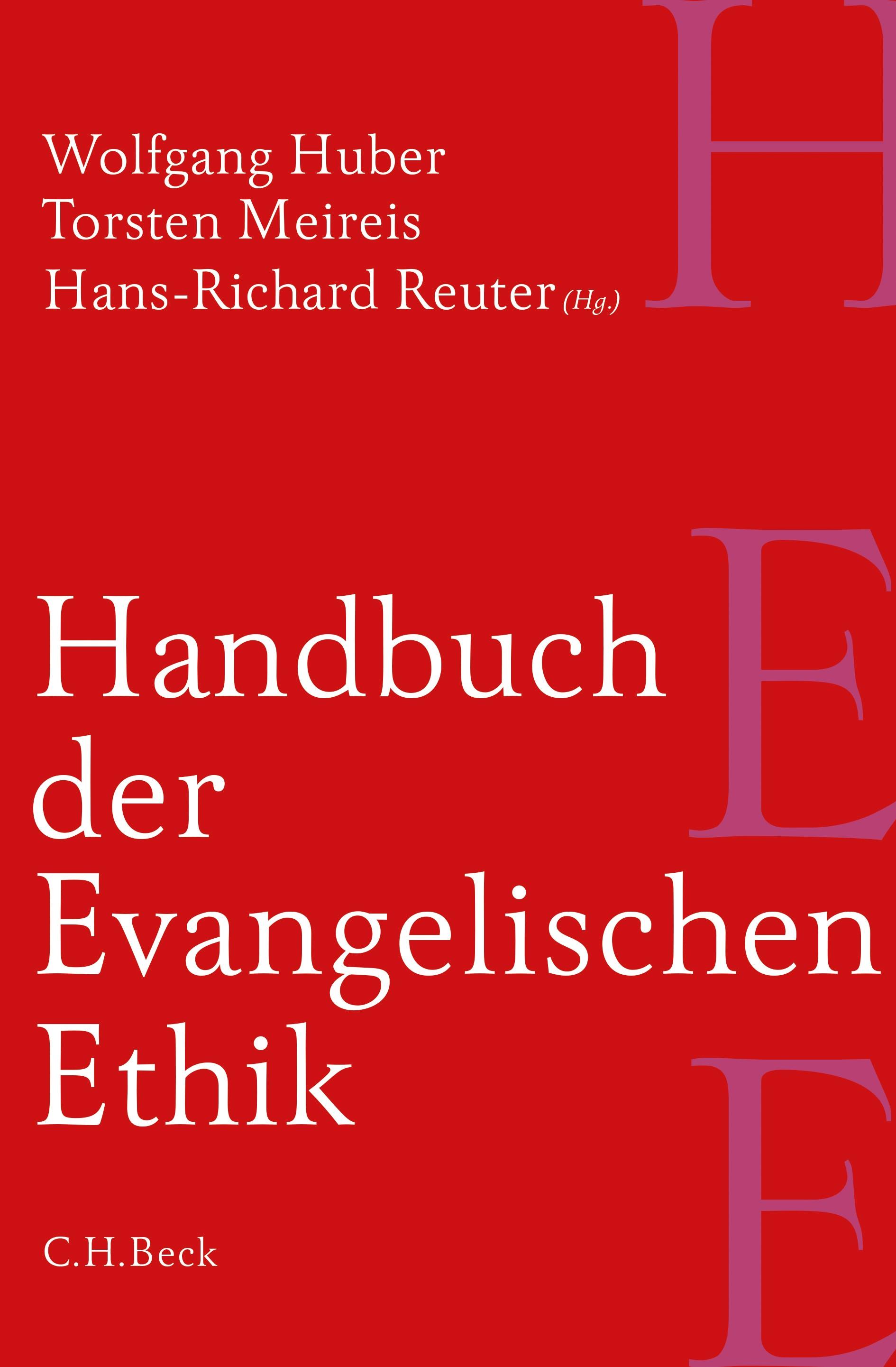 Cover des Buches 'Handbuch der Evangelischen Ethik'