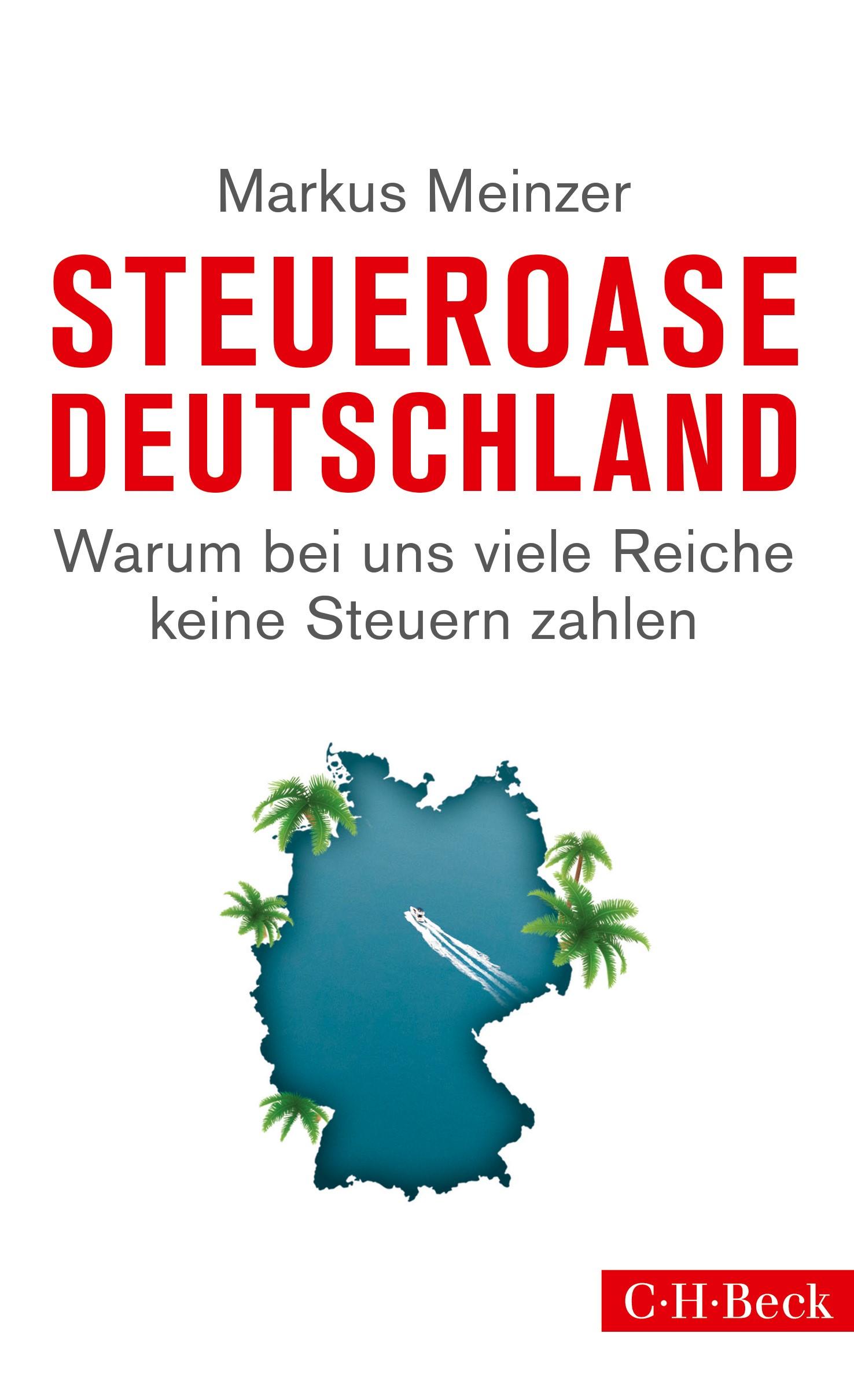 Cover des Buches 'Steueroase Deutschland'