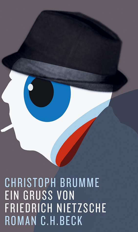 Cover des Buches 'Ein Gruß von Friedrich Nietzsche'