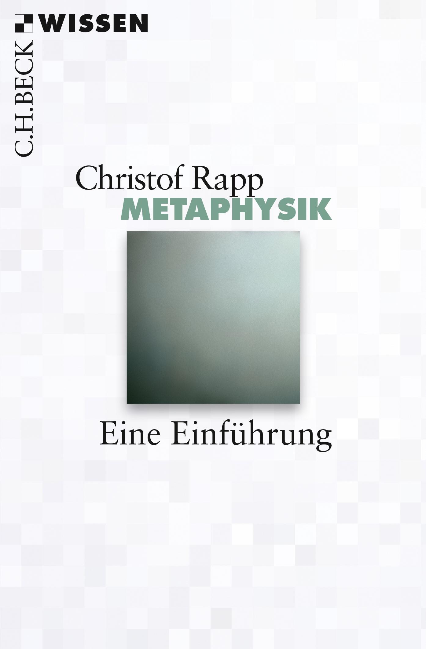 Cover des Buches 'Metaphysik'