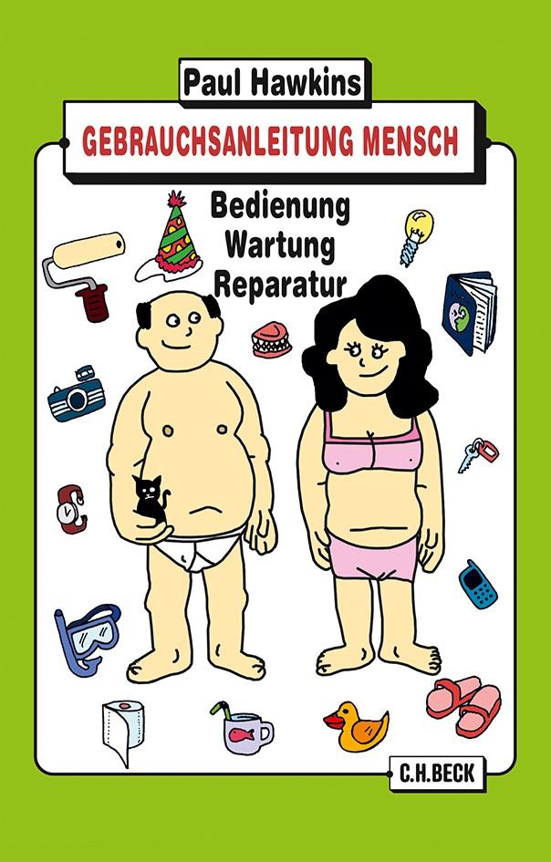Cover des Buches 'Gebrauchsanleitung Mensch'