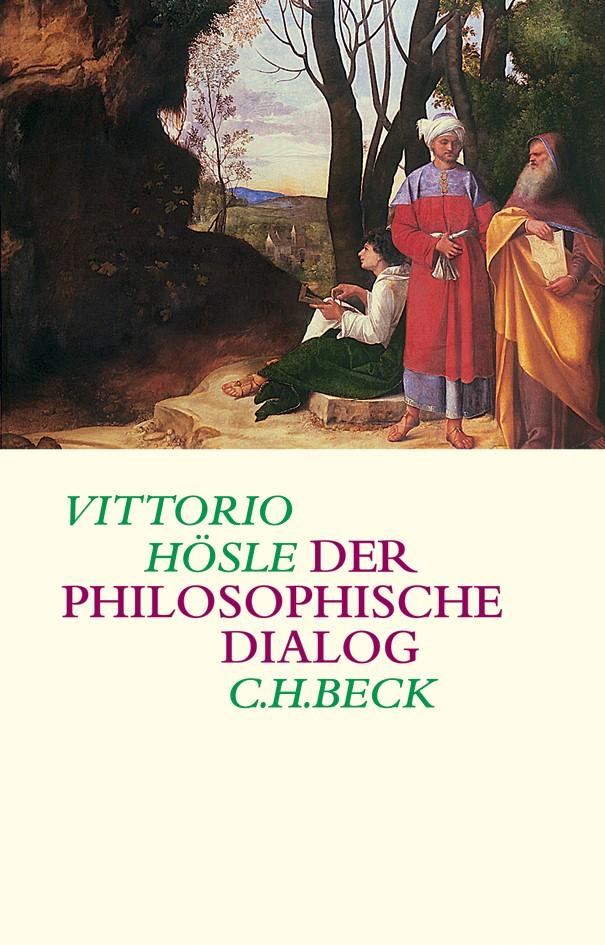 Cover des Buches 'Der philosophische Dialog'