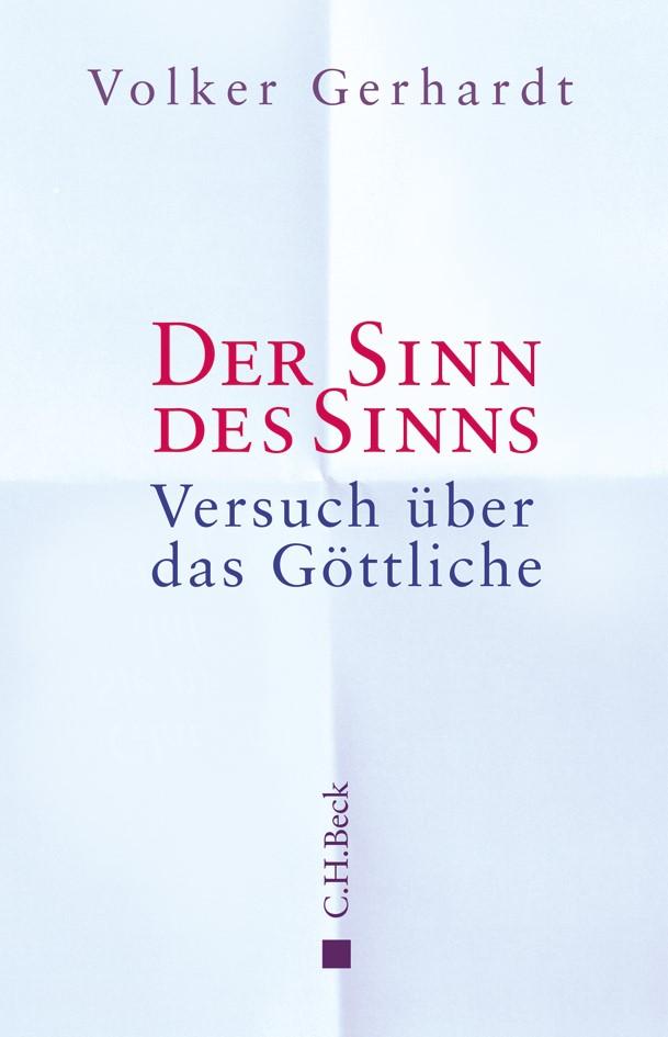Cover des Buches 'Der Sinn des Sinns'