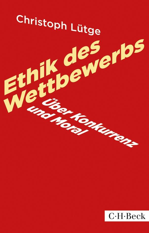 Cover des Buches 'Ethik des Wettbewerbs'