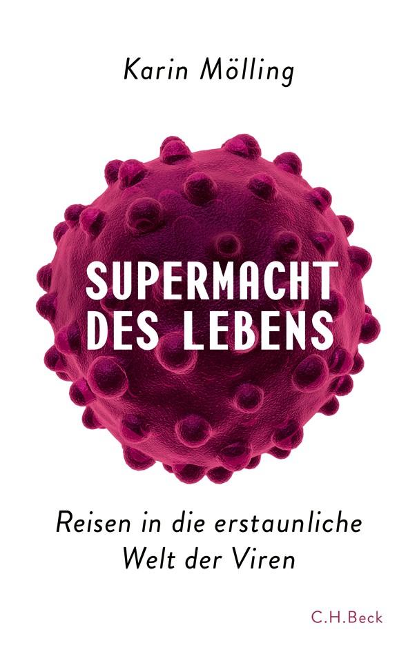 Cover des Buches 'Supermacht des Lebens'