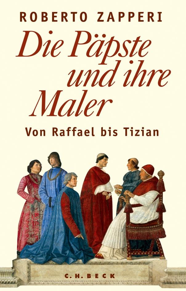 Cover des Buches 'Die Päpste und ihre Maler'