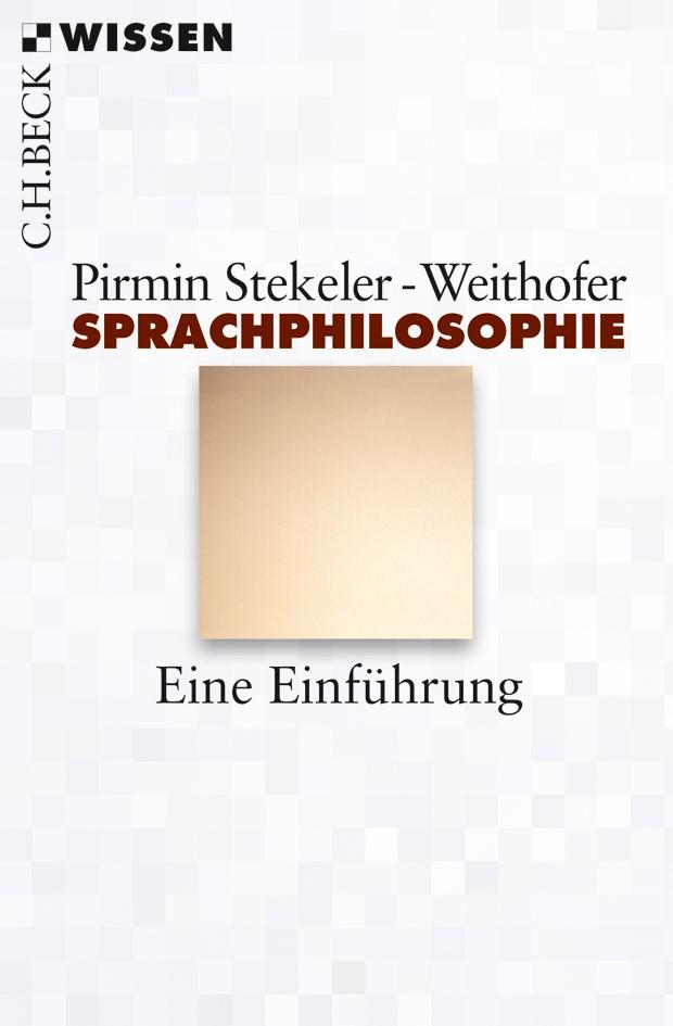 Cover des Buches 'Sprachphilosophie'
