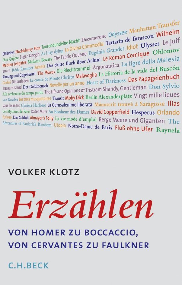 Cover des Buches 'Erzählen'