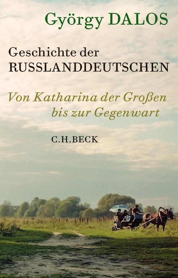 Cover des Buches 'Geschichte der Russlanddeutschen'