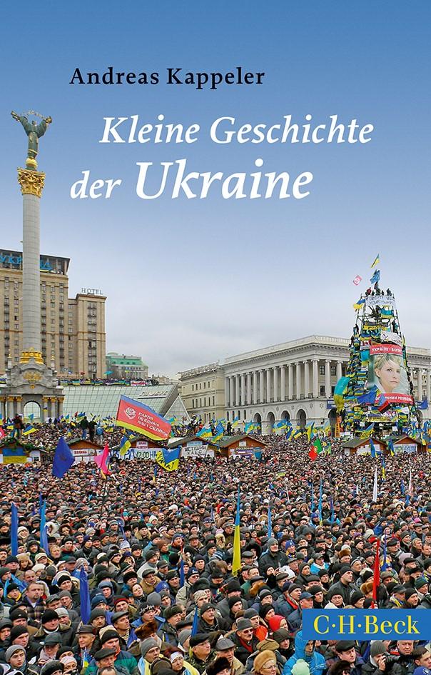 Cover des Buches 'Kleine Geschichte der Ukraine'