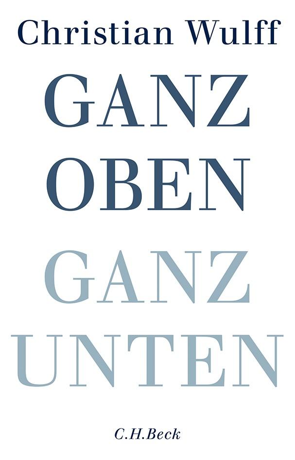Cover des Buches 'Ganz oben Ganz unten'