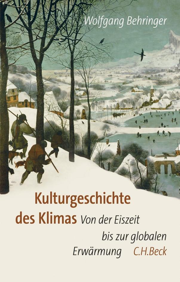 Cover des Buches 'Kulturgeschichte des Klimas'