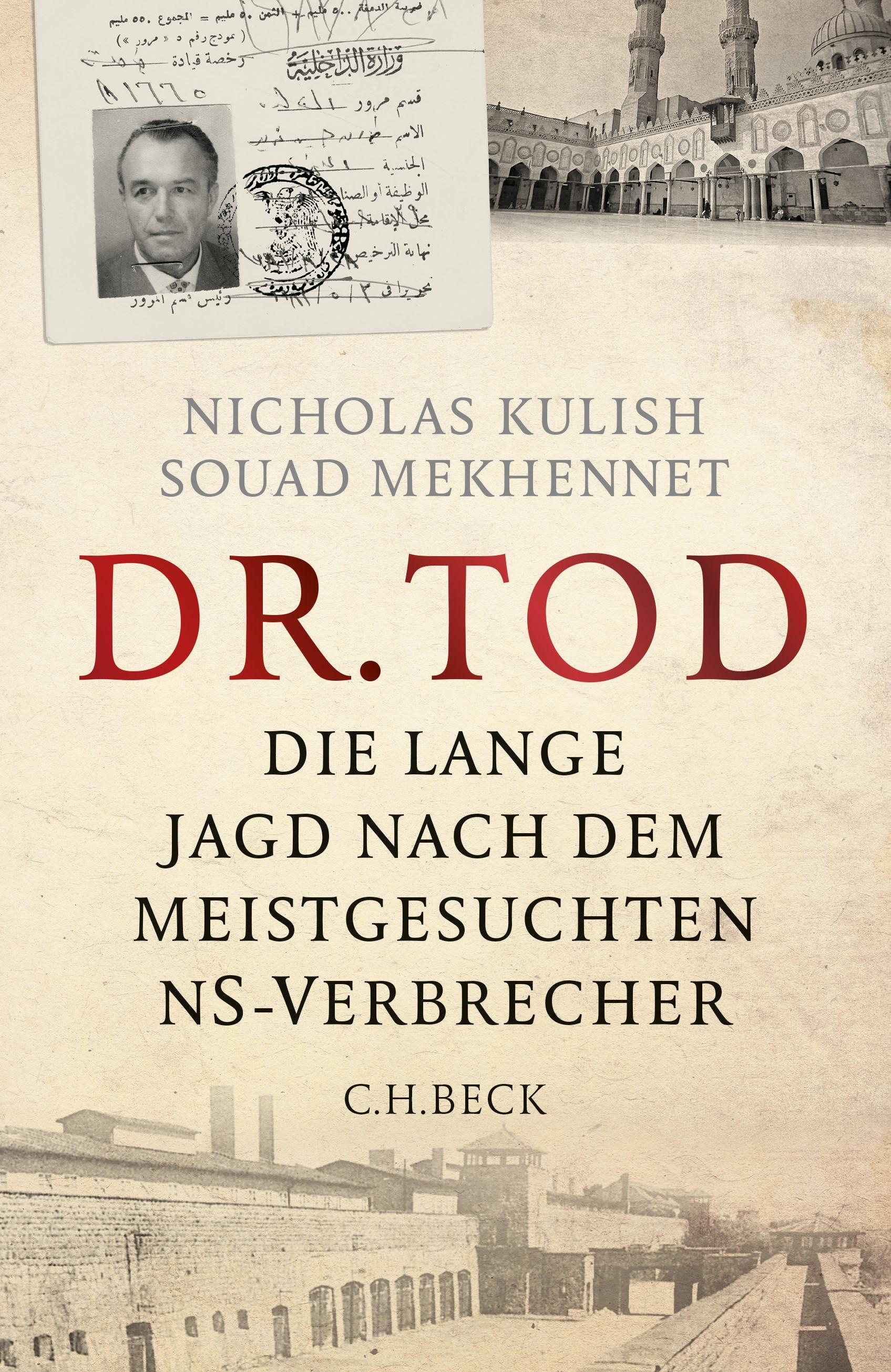 Cover des Buches 'Dr. Tod'