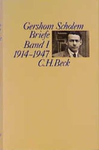 Cover des Buches 'Briefe, Band I: 1914-1947'