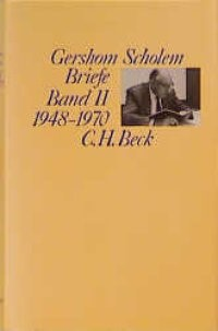 Cover des Buches 'Briefe, Band II: 1948-1970'