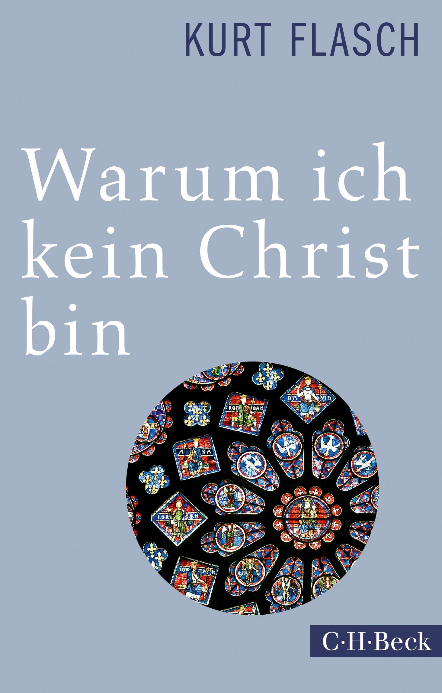 Cover des Buches 'Warum ich kein Christ bin'