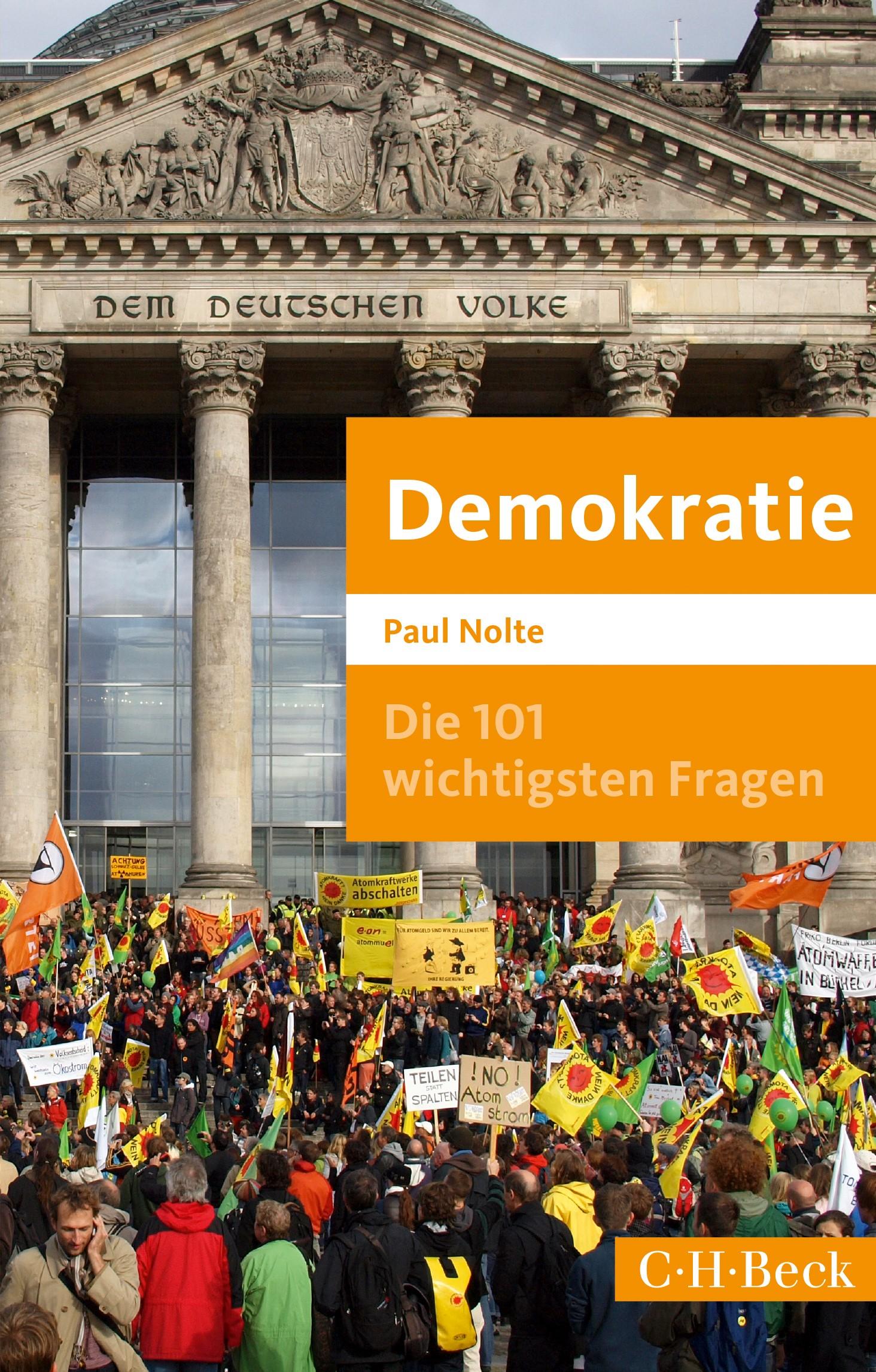 Cover des Buches 'Die 101 wichtigsten Fragen: Demokratie'