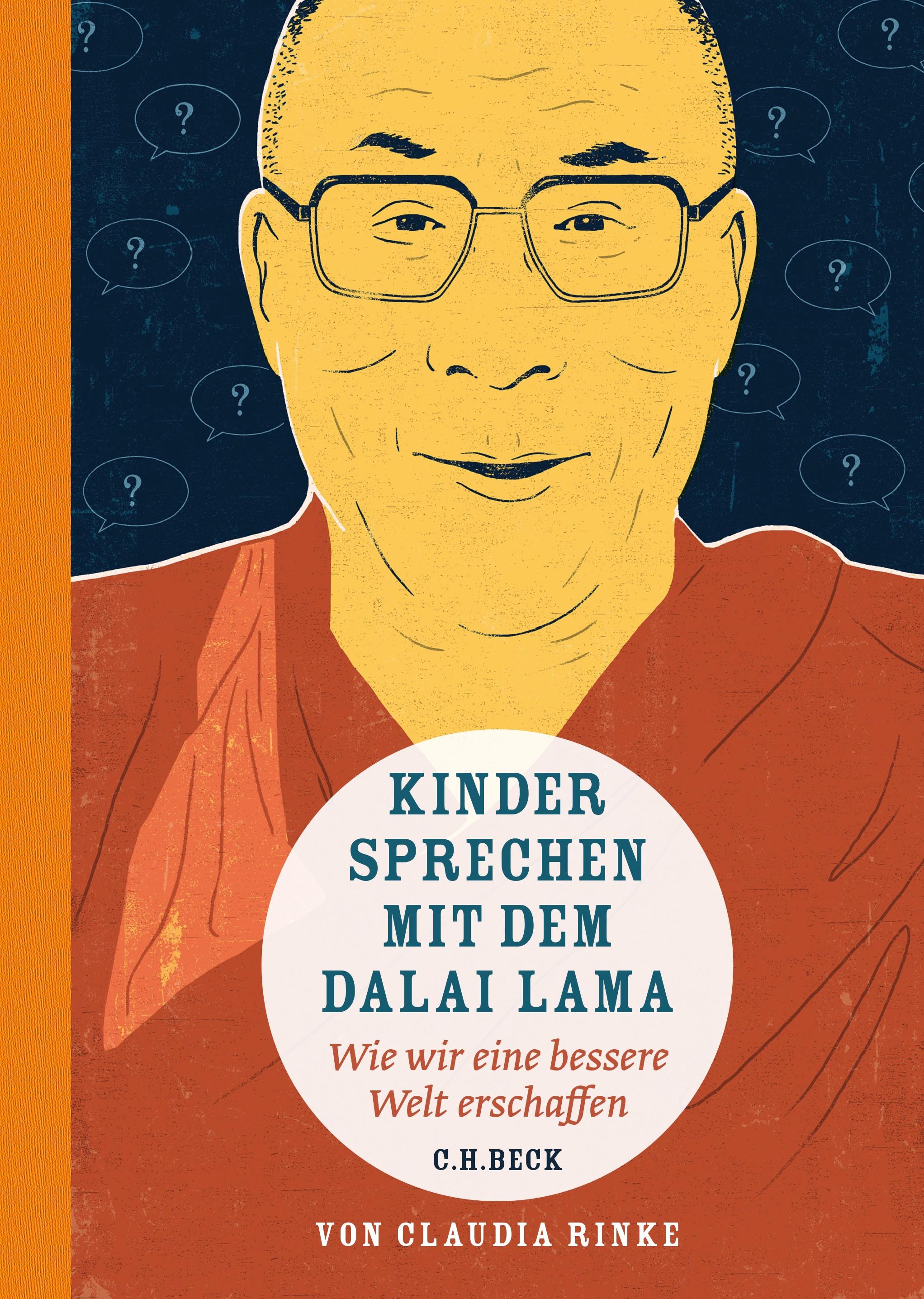 Cover des Buches 'Kinder sprechen mit dem Dalai Lama'
