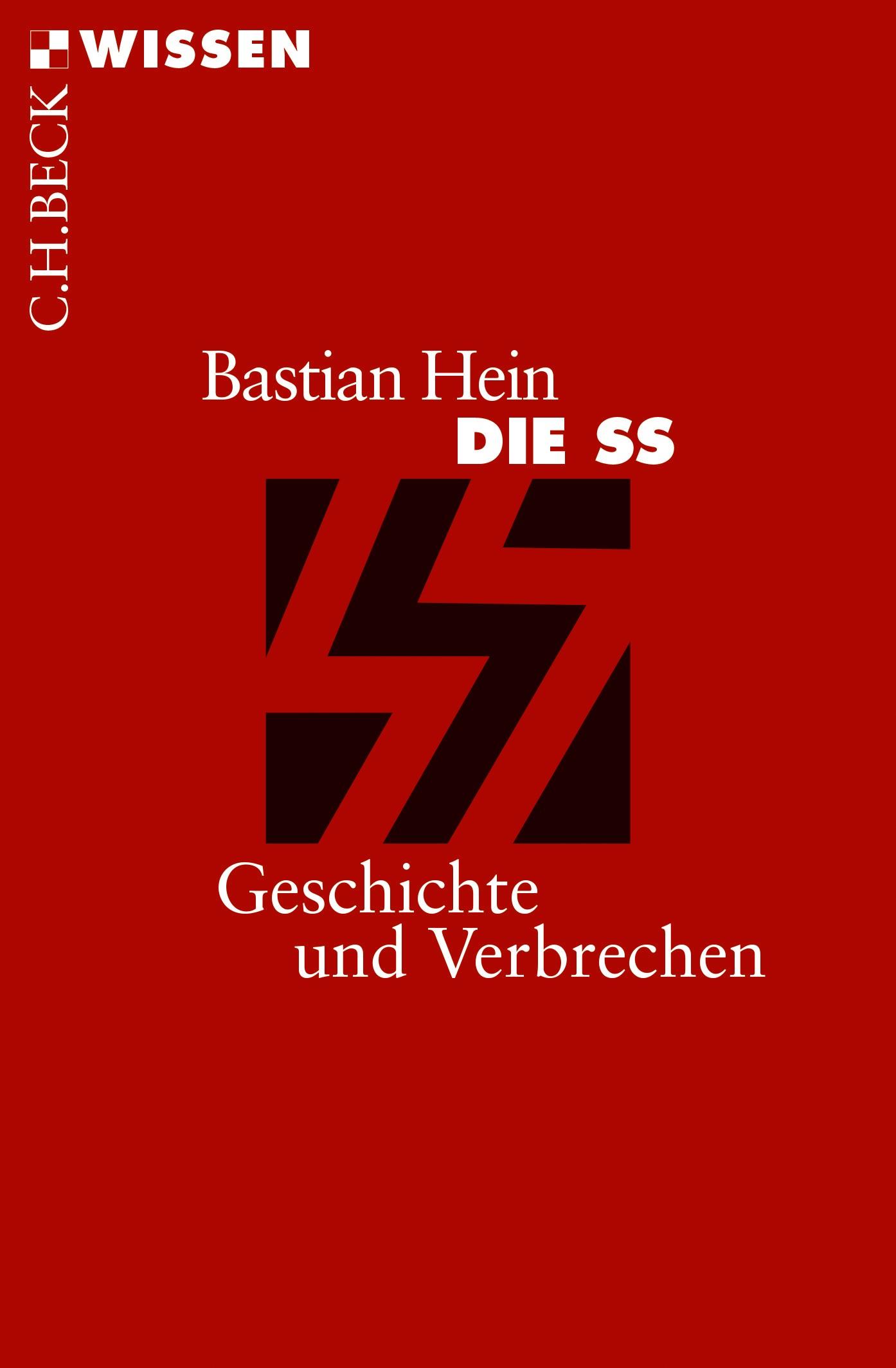 Cover des Buches 'Die SS'
