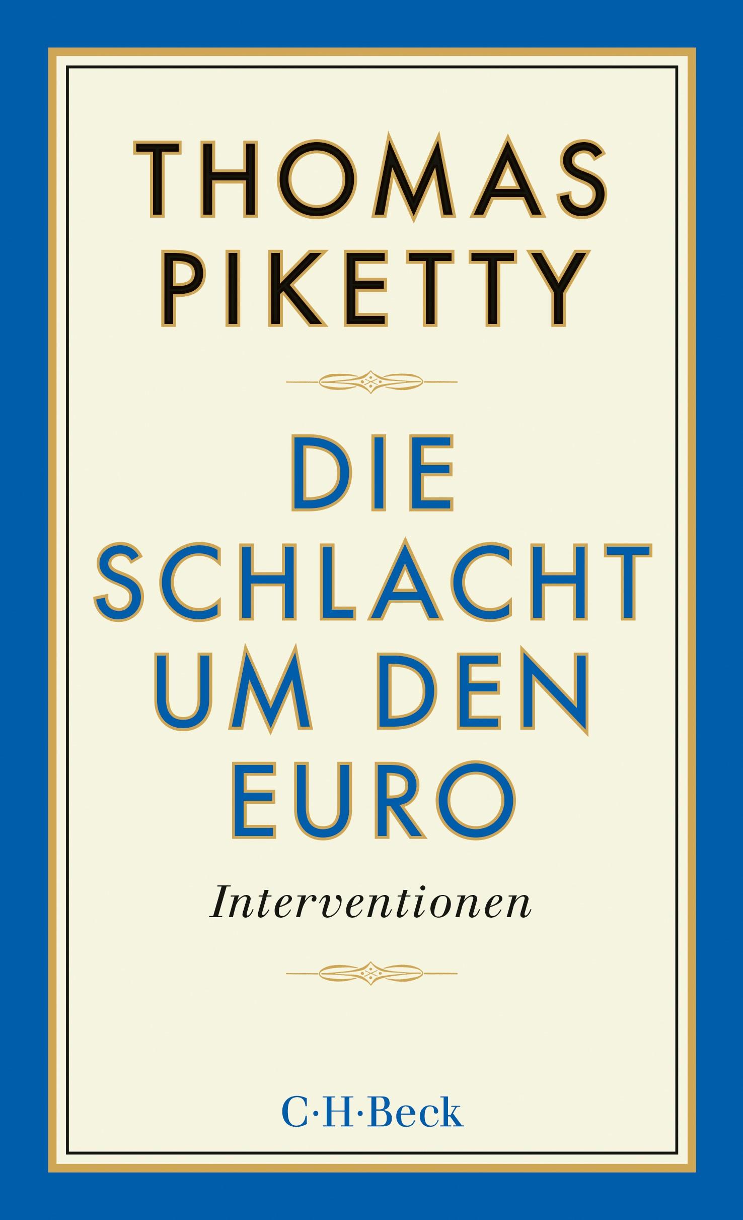 Cover des Buches 'Die Schlacht um den Euro'