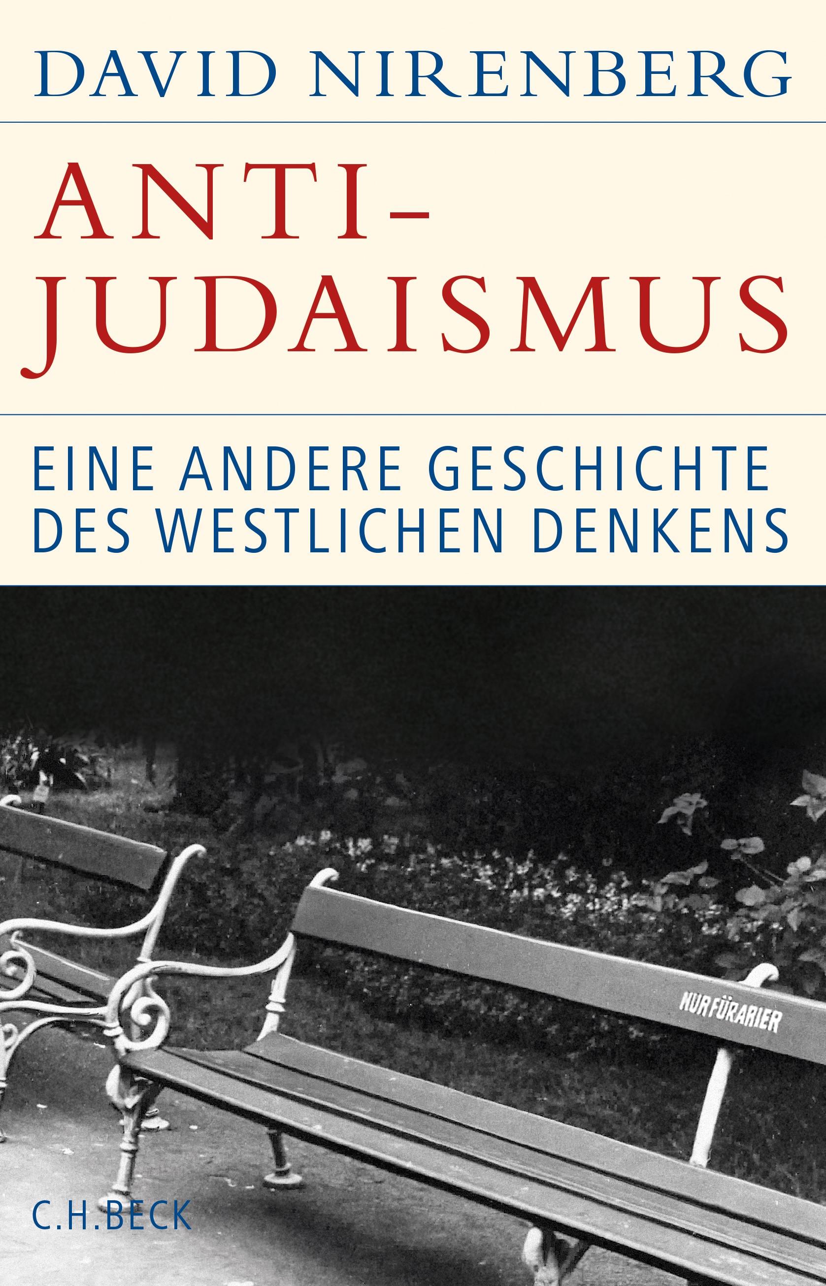 Cover des Buches 'Anti-Judaismus'
