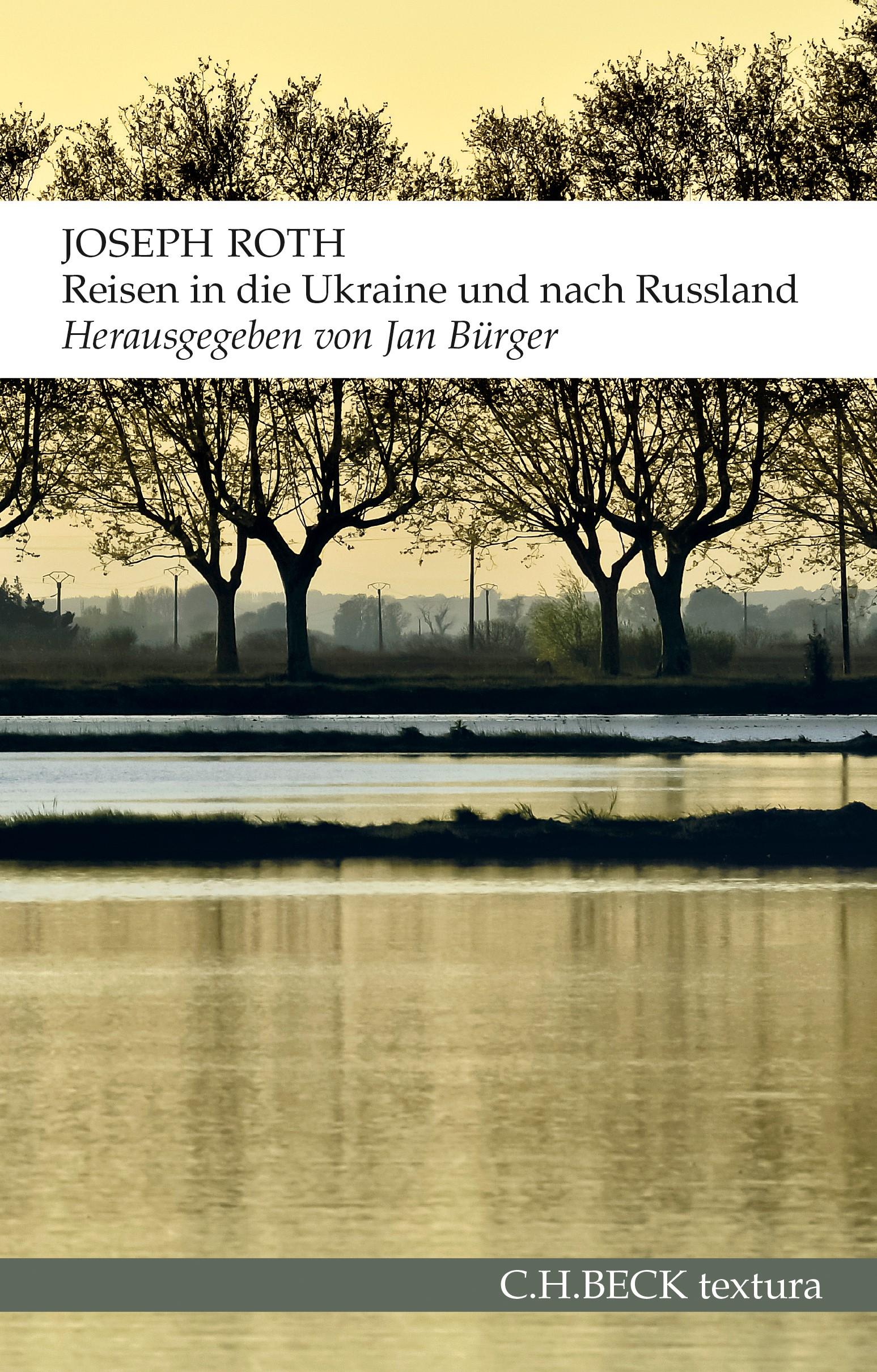 Cover des Buches 'Reisen in die Ukraine und nach Russland'