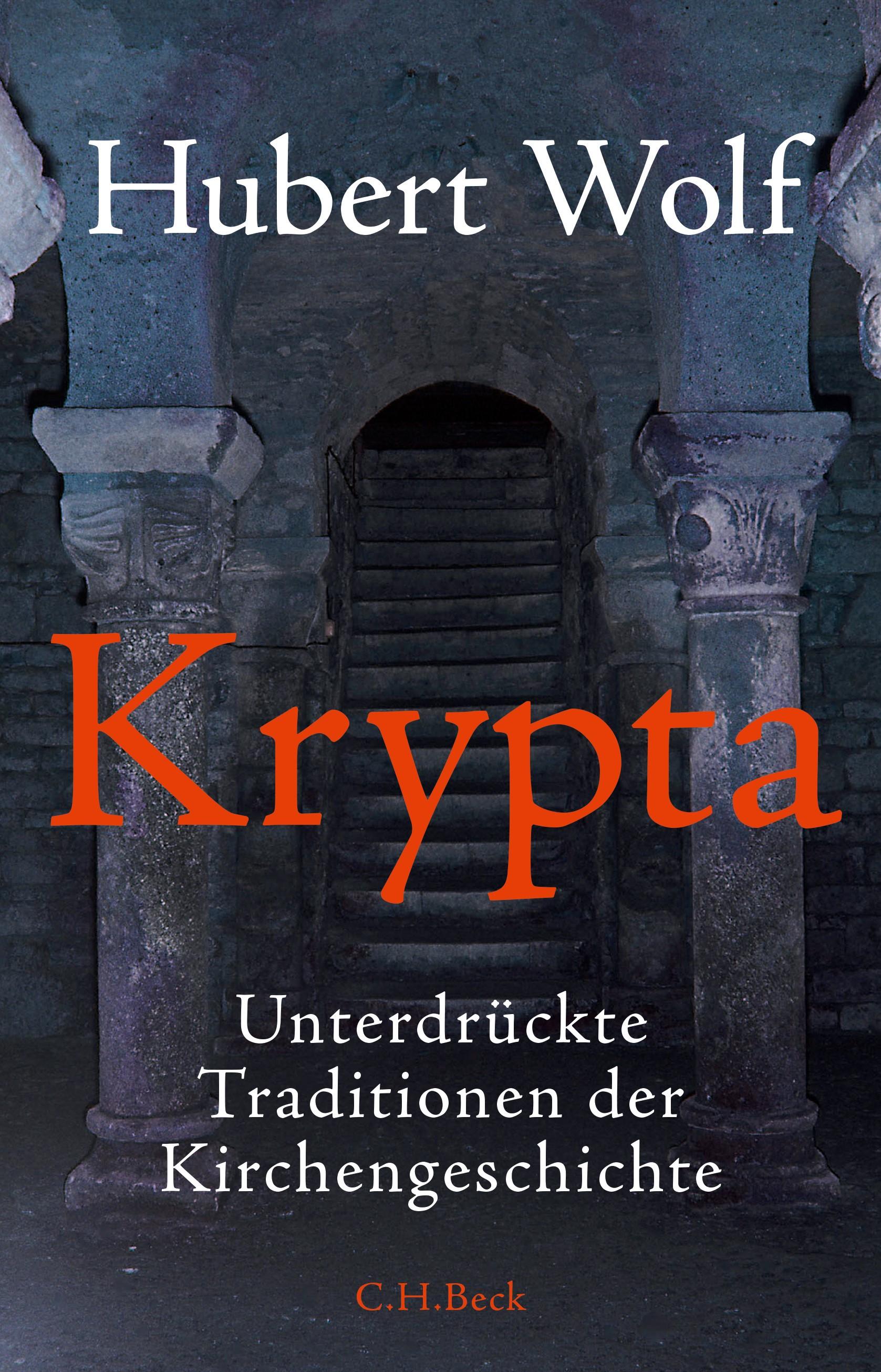 Cover des Buches 'Krypta'