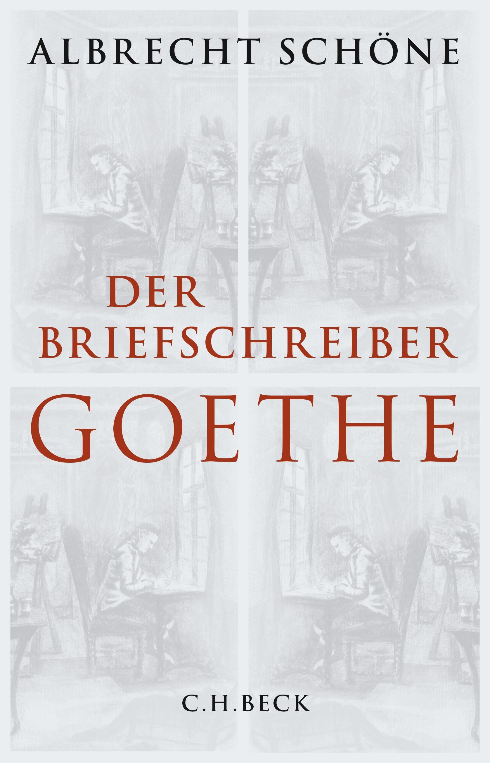 Cover des Buches 'Der Briefschreiber Goethe'