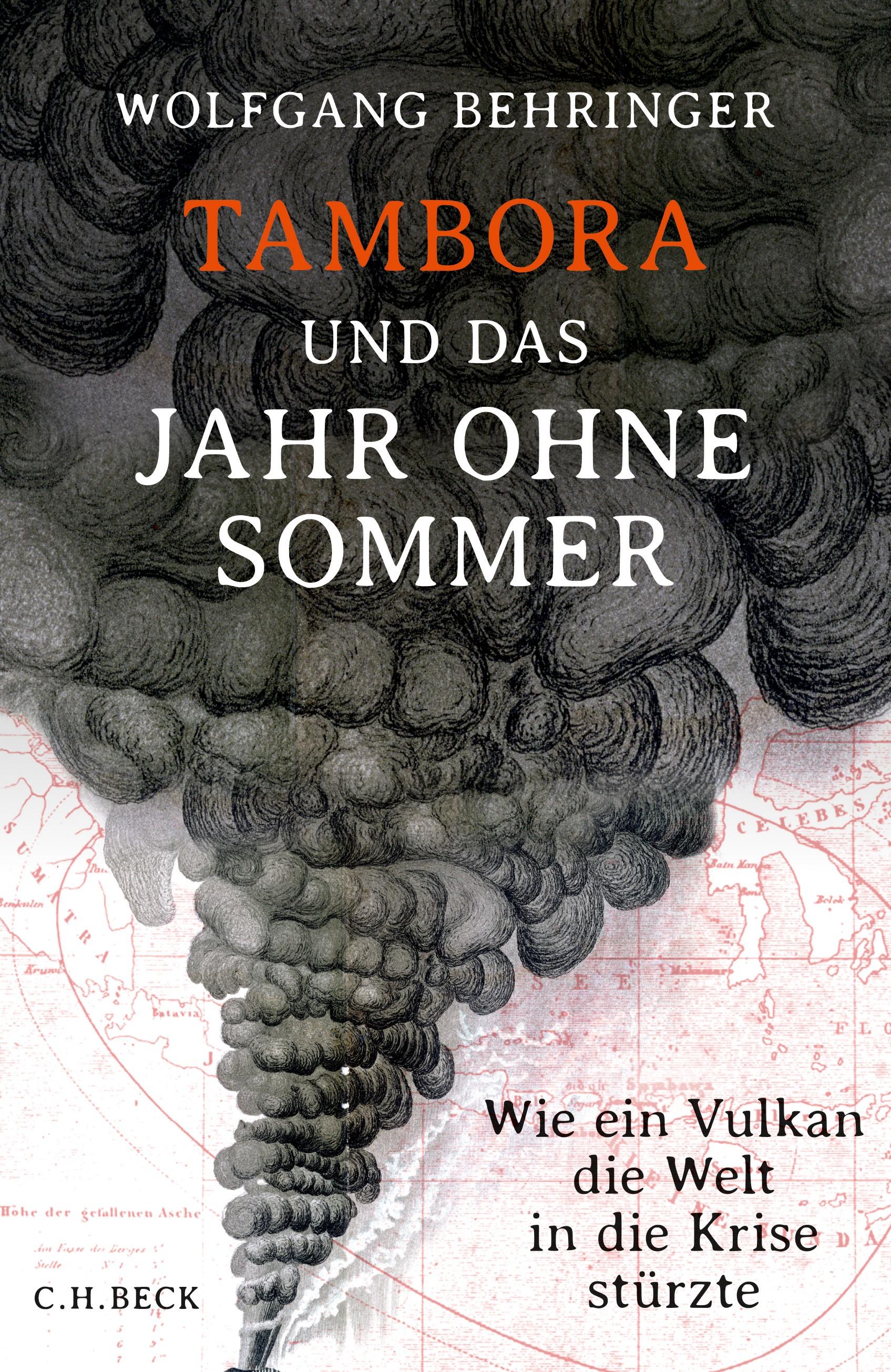 Cover des Buches 'Tambora und das Jahr ohne Sommer'