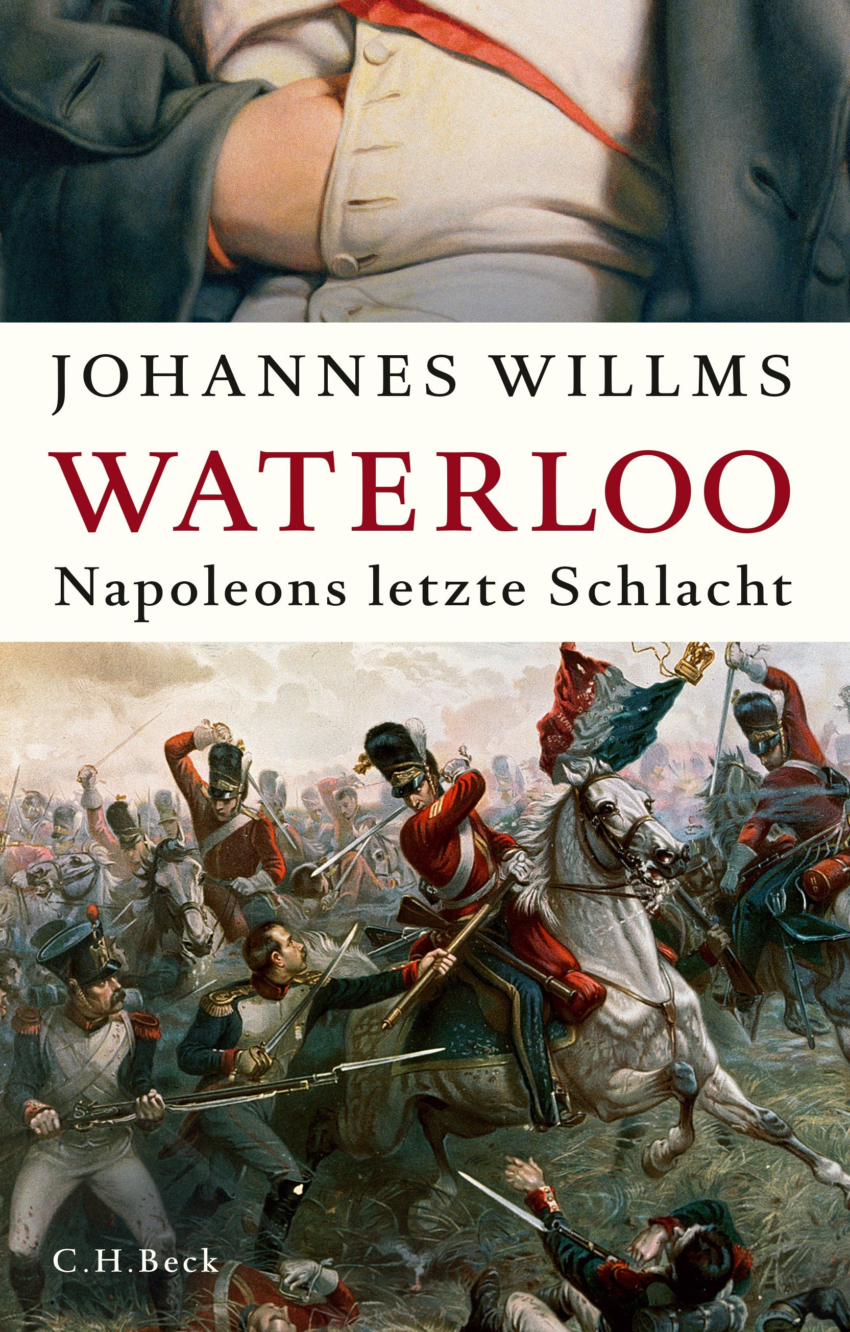 Cover des Buches 'Waterloo'